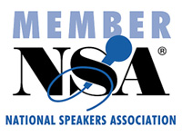 Professional Member of the National Speakers Association